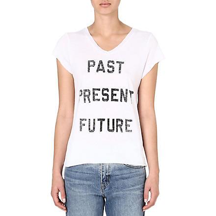 ZOE KARSSEN Past Present Future t-shirt (White