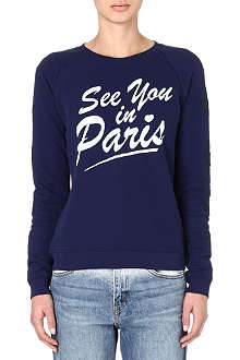 ZOE KARSSEN See You in Paris sweatshirt