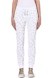 ZOE KARSSEN Leopard jogging bottoms