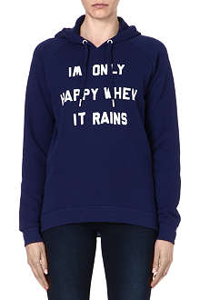 ZOE KARSSEN Only Happy When it Rains sweatshirt