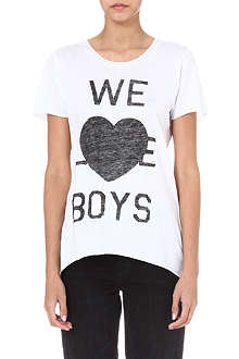 ZOE KARSSEN We Love Boys t-shirt