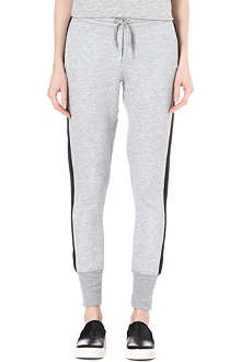 ZOE KARSSEN Tuxedo stripe jogging bottoms