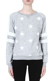 ZOE KARSSEN Star and stripe sweatshirt