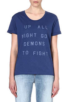 ZOE KARSSEN Up All Night jersey t-shirt