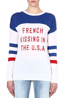 ZOE KARSSEN French kissing jumper