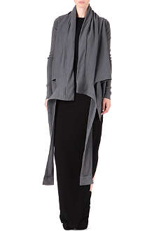 DRKSHDW Asymmetrical wrap jacket