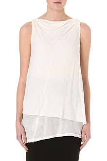 DRKSHDW Toga cotton-jersey top