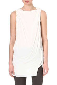 DRKSHDW Sleeveless toga top