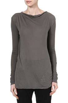 DRKSHDW Column long-sleeved top