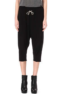 DRKSHDW Cropped jogging bottoms