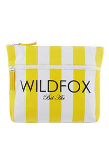 WILDFOX Striped pouch