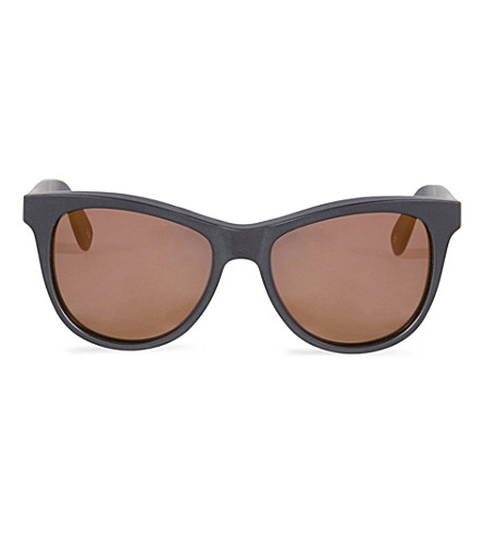WILDFOX Catfarer Deluxe sunglasses (Matte black/gold
