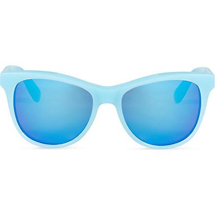 WILDFOX Catfarer Deluxe sunglasses (Pastel blue/mirror