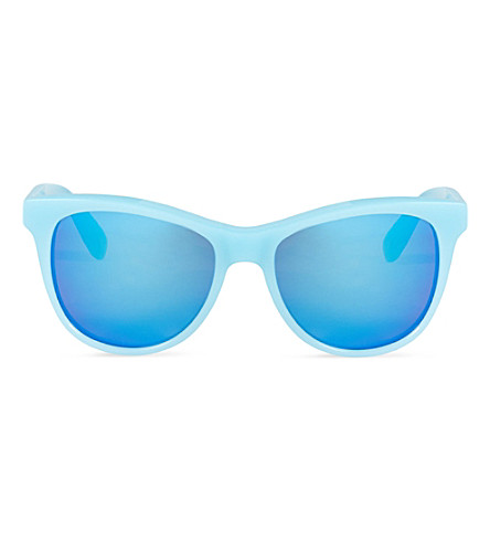 WILDFOX Catfarer Deluxe sunglasses (Pastel blue/mirror
