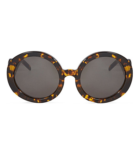 WILDFOX Catfarer tortoise shell oversized sunglasses (Tortoise