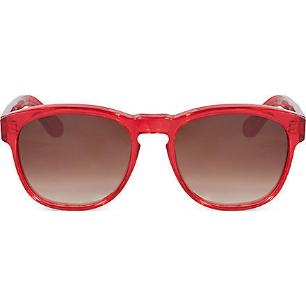 WILDFOX Classic Fox 2 sunglasses (Trans red/brown