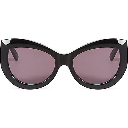 WILDFOX Kitten sunglasses (Black/grey sun