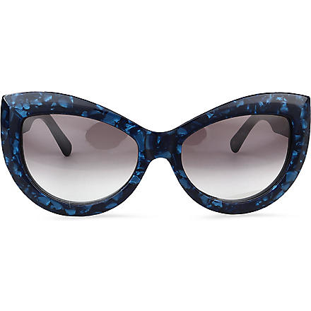 WILDFOX Kitten sunglasses (Indigo/grey gradient