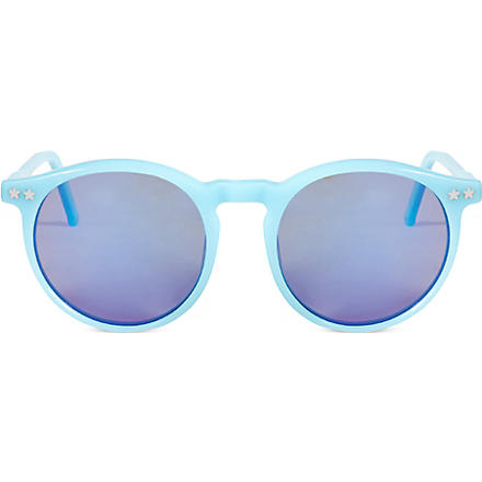 WILDFOX Steff Deluxe sunglasses (Pastel blue/mirror