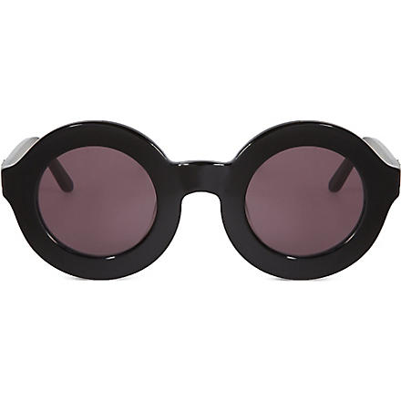 WILDFOX Twiggy sunglasses (Black/grey+sun