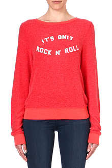 WILDFOX It's Only Rock and Roll sweatshirt