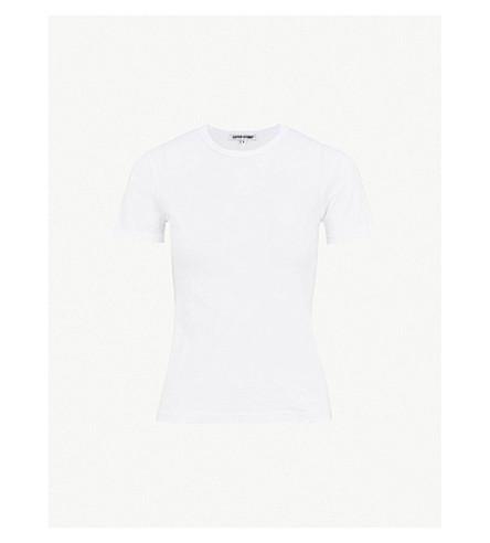 COTTON CITIZEN Standard cotton-jersey T-shirt (White