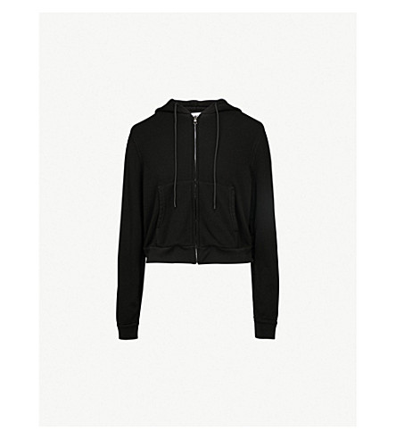 COTTON CITIZEN Berlin cotton-blend hoody (Jet black