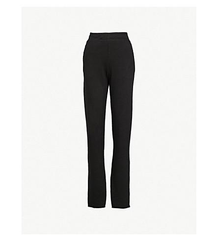 棉 CITIZEN 米兰平纹针织棉慢跑裤 (喷气黑