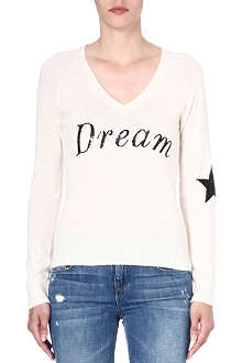 WILDFOX Dream knitted jumper