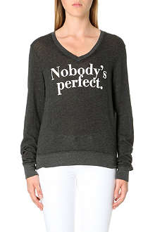 WILDFOX Nobody's Perfect jersey top