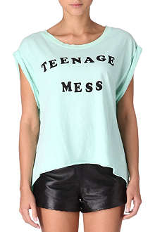 WILDFOX Teenage Mess t-shirt