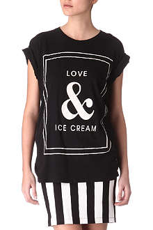 WILDFOX Love & Ice Cream top
