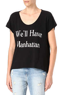 WILDFOX We'll Have Manhattan t-shirt