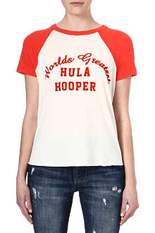 WILDFOX Hula Hooper retro t-shirt