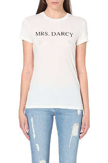 WILDFOX Mrs Darsy cotton-jersey t-shirt