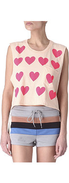WILDFOX Baby Love cropped top