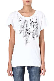 WILDFOX Amulet chain t-shirt