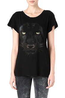 WILDFOX Panther printed t-shirt