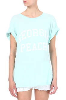 WILDFOX Georgia Peach t-shirt