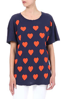 WILDFOX Falling Love t-shirt