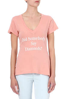 WILDFOX Did Somebody Say Diamonds? t-shirt