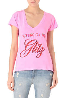 WILDFOX Putting on the Glitz t-shirt