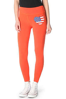 WILDFOX American Heart leggings