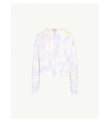 WILDFOX Marquis tie-dye cotton-jersey hoody (Aura+tie+dye