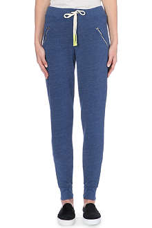 SUNDRY Zip-pocket cropped jogging bottoms