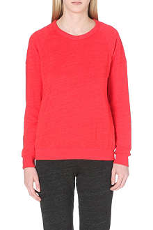 SUNDRY Long-sleeved jersey sweatshirt