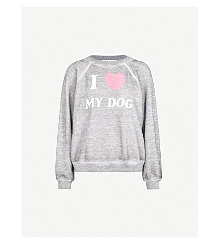 WILDFOX I Love My Dog jersey sweatshirt (Heather