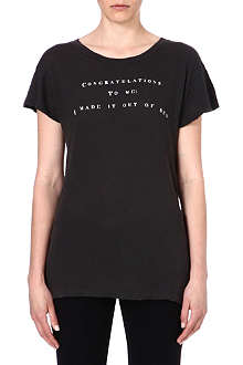 WILDFOX Congratulations To Me t-shirt