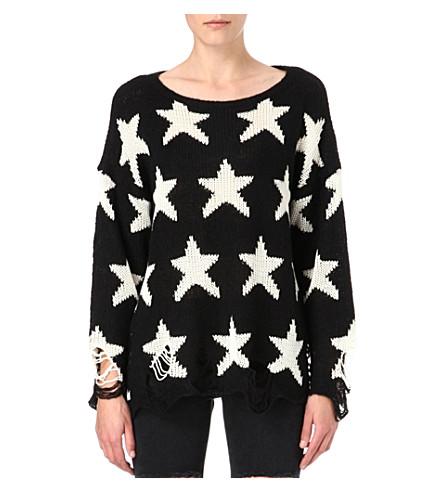 WILDFOX Seeing Stars sweater (Black