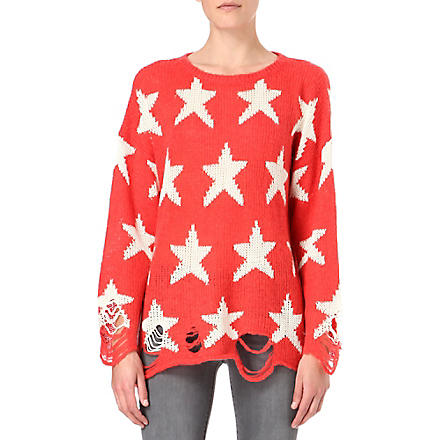 WILDFOX Seeing Stars jumper (Red